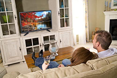 """SuperSonic SC-1512 LED Widescreen HDTV & Monitor 15.6"""", Built-in DVD Player with HDMI, USB, SD & AC/DC Input: DVD/CD/CDR High Resolution and Digital Noise Reduction"""