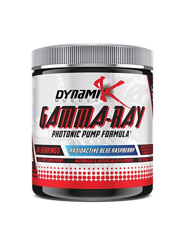 Dynamik Muscle Gamma-Ray Photonic Pumps, Radioactive Blue Raspberry, 8.46oz by Dynamik Muscle