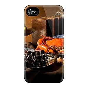 ZmdVn8605ETGzn JenniferCools Food On The Table Durable Iphone 4/4s Tpu Flexible Soft Case