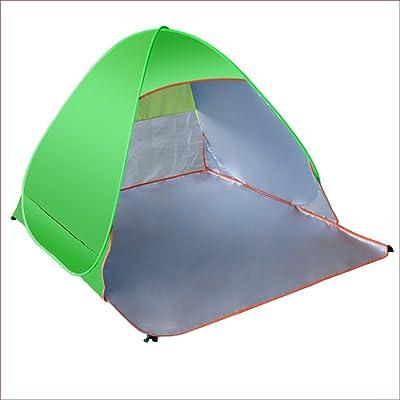 TY&WJ Tente De Camping,Plage Barbecue Et Grill Parasol Tente Entièrement Automatique Ouverture Rapide Plein Air Tente Portative Résistant Aux Uv Tentes Dôme 2 Personnes