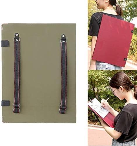 学用品 グレートスケッチブッククリップ8Kショルダースケッチスケッチクリップ(アーミーグリーン) (Color : Army G