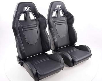 Par de asientos deportivos ergonómicos de alto rendimiento ...