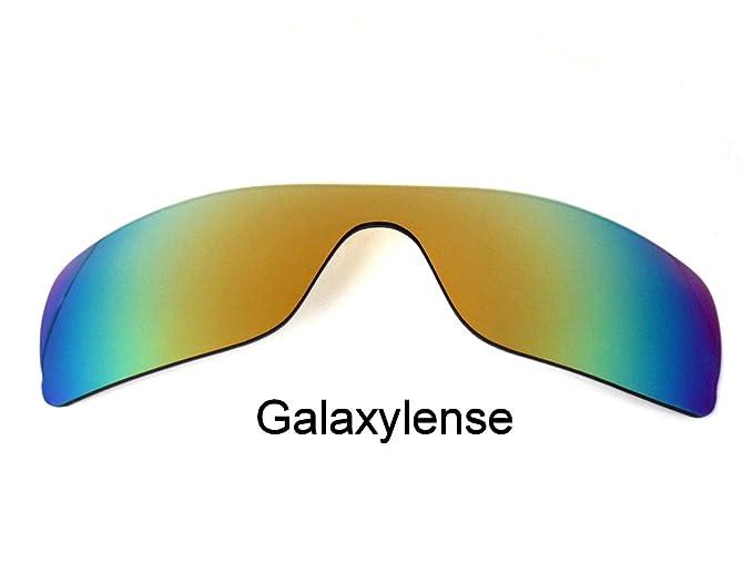 Galaxia Lentes De Repuesto Para Oakley Batwolf GAFAS SOL POLARIZADAS ORO, GRATIS s&h - Transparente