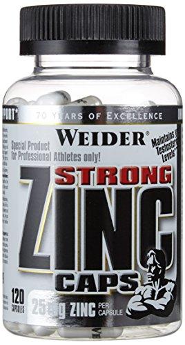 Weider Zinc Caps- 120 Kapseln, 1er Pack (1 x 84 g)