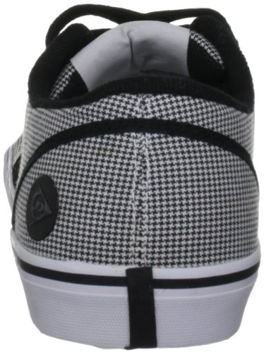 Dunlop 1987 Panel Fabric Herren Sport und Lifestyle Schnürschuhe Black/White/Grey
