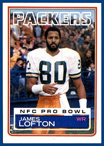 1983 Topps #83 James Lofton GREEN BAY PACKERS