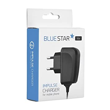 Cargador de Red + Cable Micro Usb Universal Blue Star ...