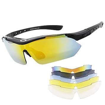 Miriqi Gafas de Sol polarizadas con 5 Lentes Intercambiables ...