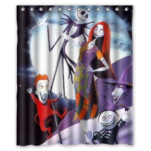 The Nightmare Before Christmas Shower Curtain 60