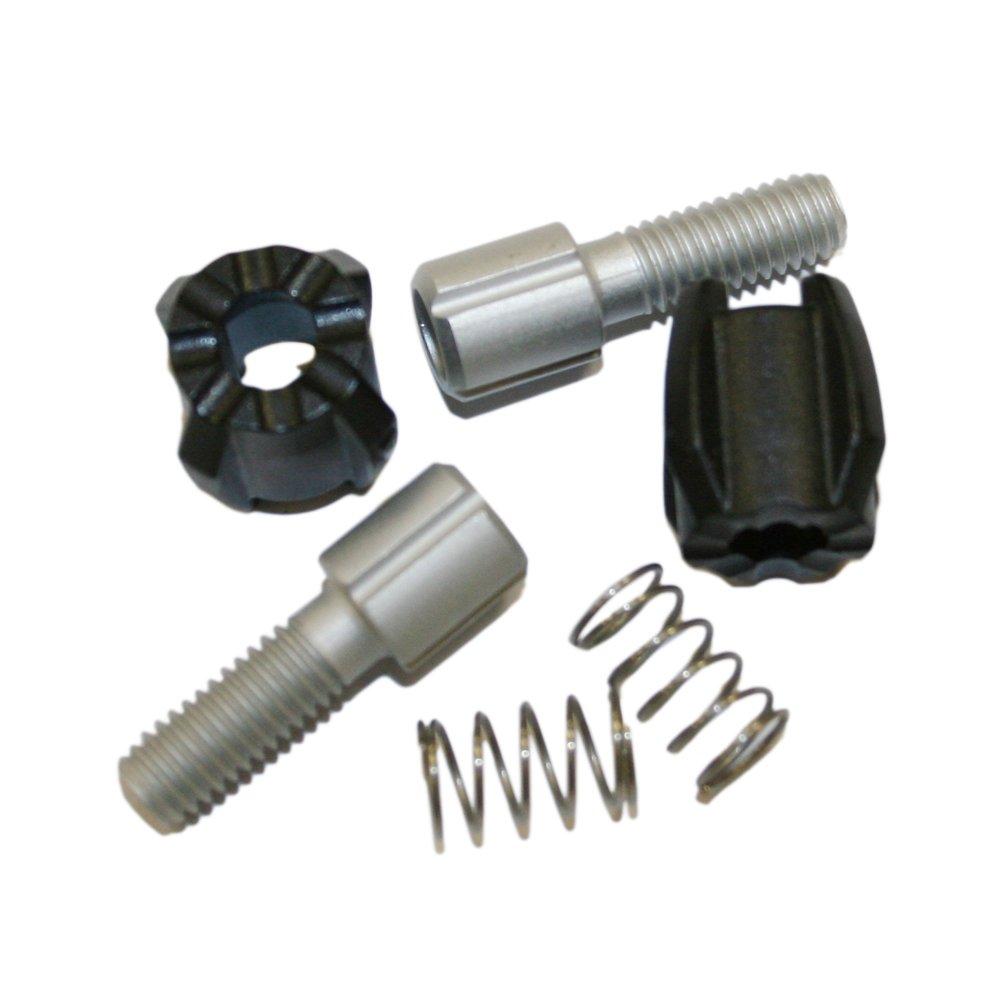 Sram - Kit de tensor de cambio trasero (M6, 6 piezas Sram MTB Trigger Adjuster Barrels