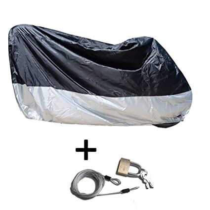 Amazon.com: Motorcycle Cover, All Season Waterproof Outdoor ...