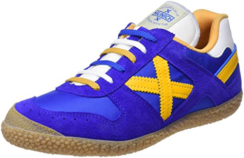 yellow Goal Unisex Zapatillas blue Multicolor Adulto 1374 Munich aPYxx