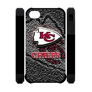 Collectibles NFL Kansas City Chiefs Apple Iphone 4S/4 Case Cover Dual Protective Polymer Cases Slim Stylish