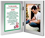 Christmas Gift for New Dad - To My Daddy On Our First Christmas Together - Add Photo to Frame