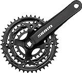 SRAM S600 Crankset - 3 x 8-speed, 175mm x 42-32-22T, Square Taper, Black