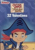Captain Jake and the Never Land Pirates Valentines Day Cards - Box of 32 Cards