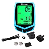 West Biking Wireless Bike Computer Waterproof Multifunctional Odometer Speedometer LED Night Light for Bike Cycling