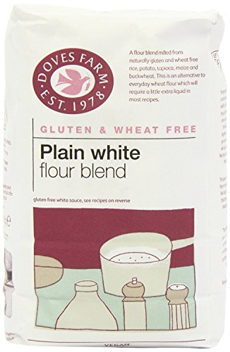 Doves Farm Gluten & Wheat Free Plain White Flour Blend 1kg