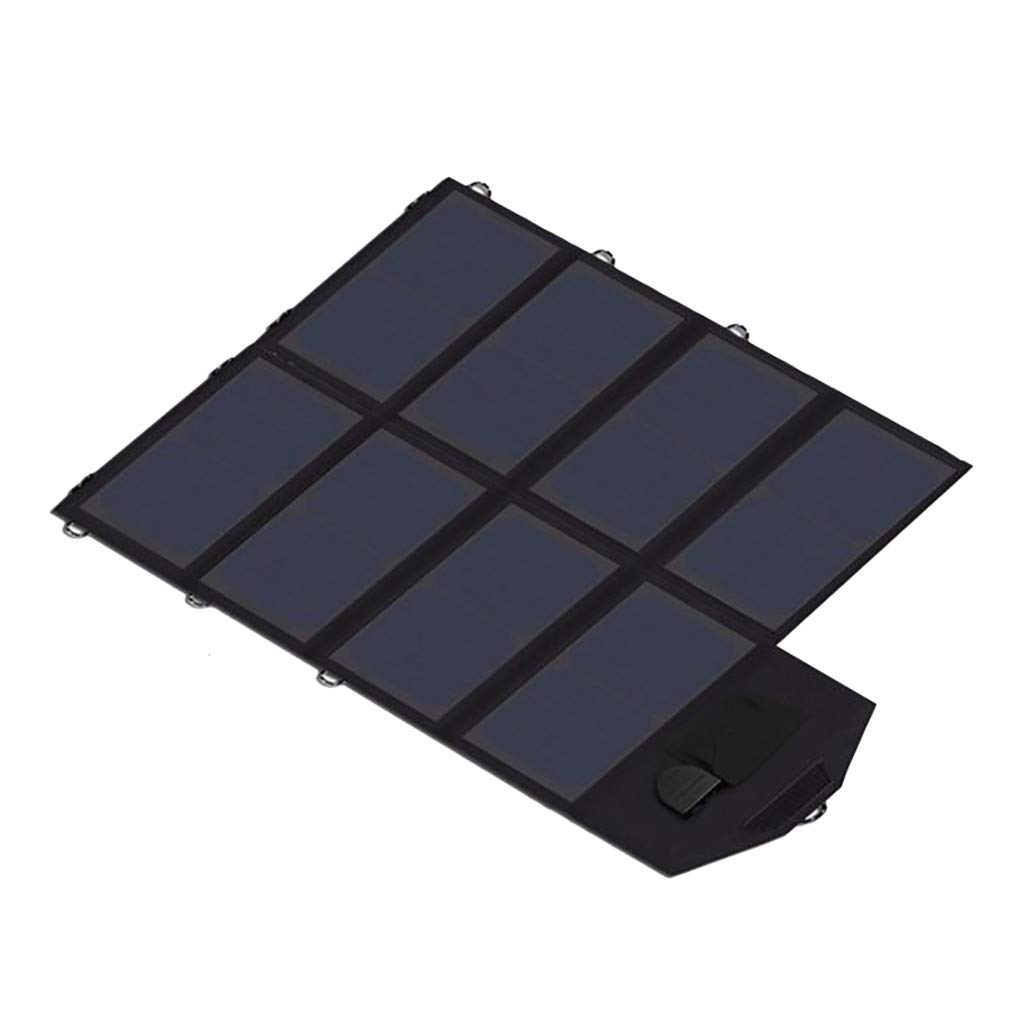 Freshzone for X-Dragon 40W Waterproof Solar Folding Charger 18V Quick Charge Laptop Mobile Power Supply Intelligent Transformer, 2A Smart Quick Charge 1A Normanl Charge