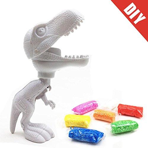Dinosaur Clay - Dingji Clay Toy, DIY Create Color Dinosaur Slime Painting Toy Snow Mud Foam Modelling Clay