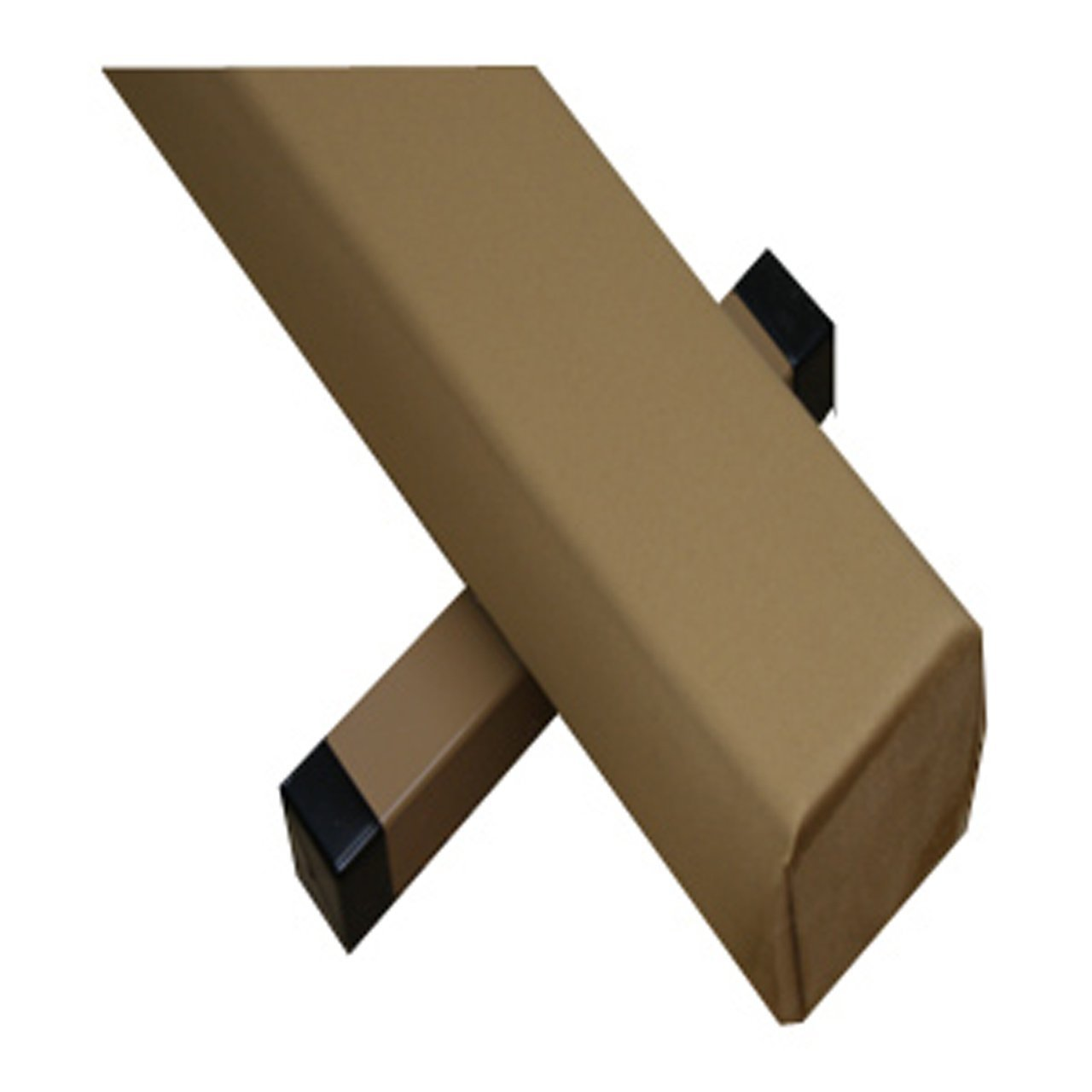 The Beam Store Tan Suede Balance Beam and Blue Mat Combo