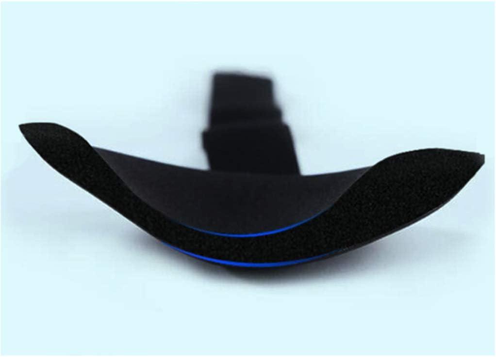 QJY Cómoda, de algodón transpirable máscara for los ojos del sueño ajustable - el mejor compañero de sombra de ojos noche (Color : Black)