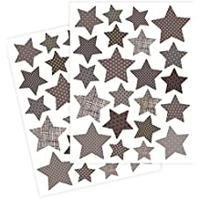 Petit Collage Wall Decal, Stars