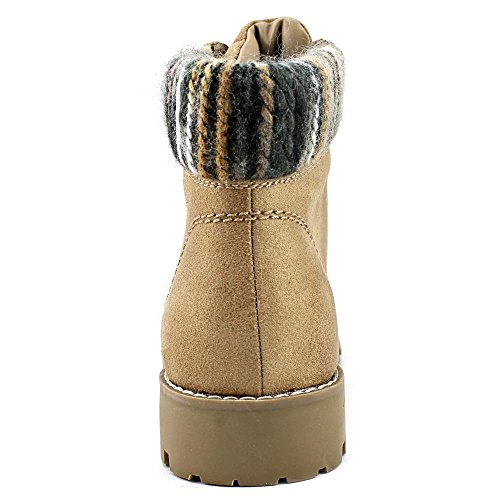 Multi Women's Mountain Ankle Bootie White by Portsmouth Natural Cliffs Sweater Fabric qP4U8