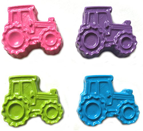 MinifigFans 48 Tractor Crayons - Pink and Pastel