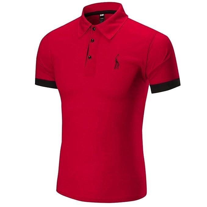 Camisa t-Shirt tee Tops Blusa Hombre Personalizada Casual Manga Corta, Hombres Verano Camisetas
