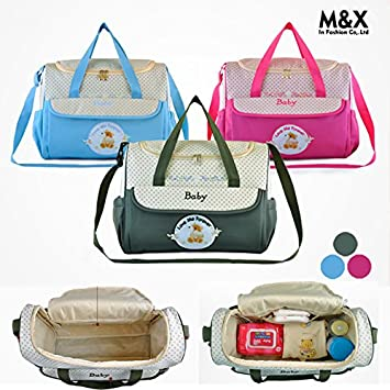 Amazon.com : Baby diaper bags Mummy bags sac a langer wet nappy bags for mom bolsa maternidade baby changing maternity stroller bag to mother : Baby
