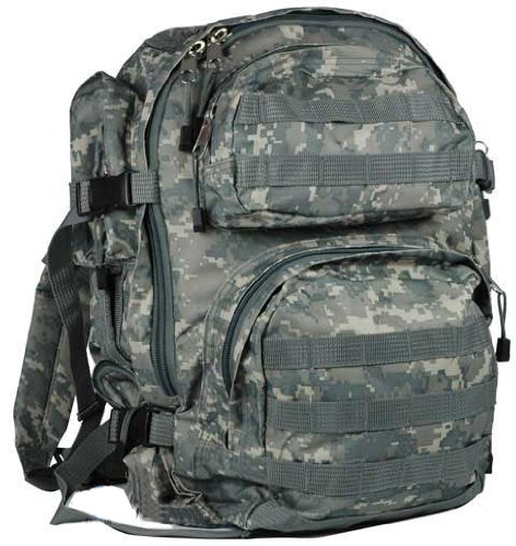 NcSTAR Tactical Assault Pack / MOLLE Backpack – (ACU), Outdoor Stuffs