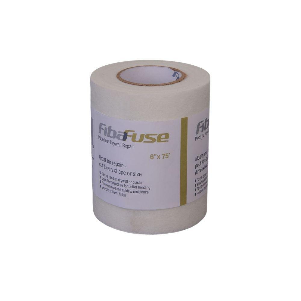 Fibafuse Paperless Drywll Repair 6''X75' by FibaFuse