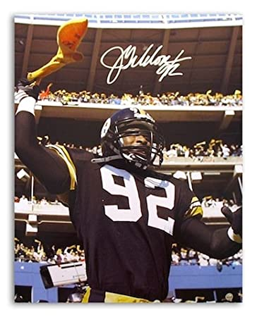 b39c952d596 Autographed Jason Gildon Pittsburgh Steelers 16x20 Photo at Amazon's ...