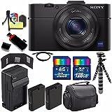 Sony Cyber-shot DSC-RX100M2 Digital Camera + Extra battery + Charger + 160GB Bundle 11 - International Version (No Warranty)