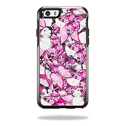 MightySkins Skin Compatible with OtterBox Symmetry iPhone 6 Case - Butterflies | Protective, Durable, and Unique Vinyl Decal wrap Cover | Easy to Apply, Remove, and Change Styles | Made in The USA