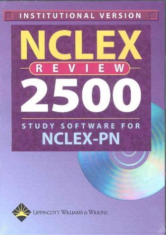 (Nclex Review 2005 Study Software For Nclex-pn: (institutional Single Seat Cd-rom For Windows) by Springhouse Corporation (2003-10-01) Hardcover)