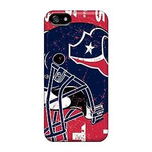 Iphone 5/5s KzK12609Opol Custom Beautiful Houston Texans Series Scratch Protection Hard Phone Case -JamieBratt