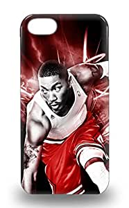 Hot Snap On NBA Chicago Bulls Derrick Rose #1 Hard Cover Case Protective Case For Iphone 5/5s