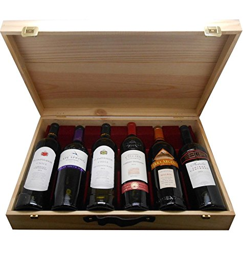 Cap Monde Worldwide Wine Selection Gift Pack 75 Cl Case Of 6