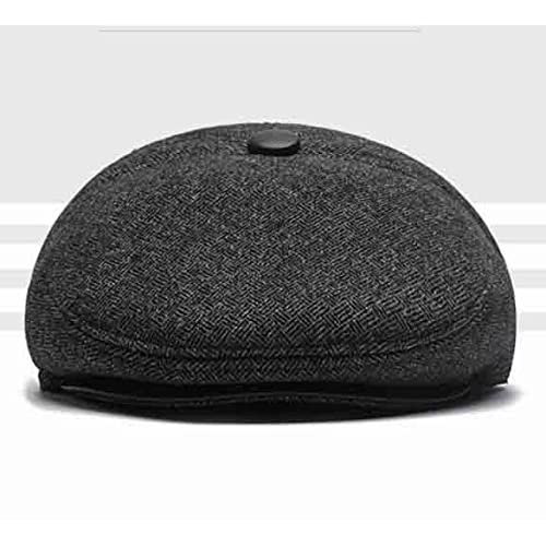 Sombrero Plano De Lana De Hombre Sombrero Plano De Ivy Sombrero De Invierno  De Sombrero De de152947617