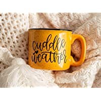 Cuddle Weather Campfire Mug - Fall Decor - Rustic Decor - Autumn Gifts - Fall Coffee Mug - Pumpkin Spice Latte - Gift for Friend