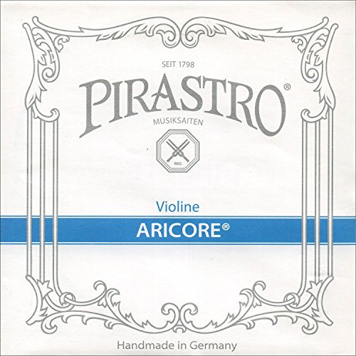Pirastro Aricore 4/4 Violin String Set - Medium Gauge with Ball End E by Pirastro