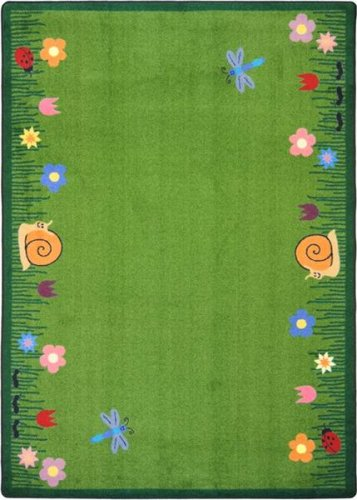 Kid Essentials Summer Friends Kids Rug Rug Size: 5'4'' x 7'8''