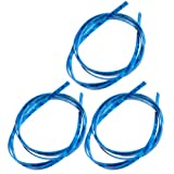 3pcs Blue Pearl Celluloid 5 Feet Guitar Binding