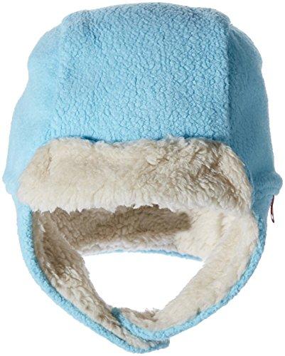 Zutano Unisex Baby Cozie Fleece Furry Hat, Pool, 24M