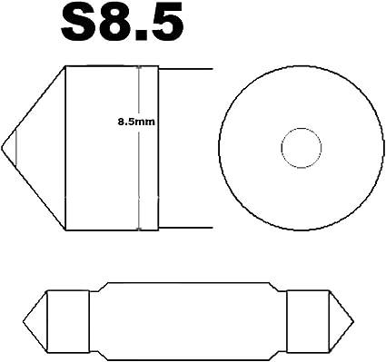 10 X 39mm Lkw Bus Lampe Birne Sv8 5 T10 C5w C10w 10w Soffitte 24v Auto