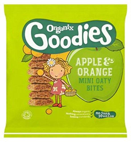 Organix Goodies Apple & Orange Mini Oaty Bites 140G - Pack of 2