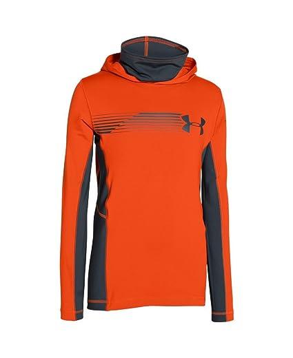 f123787da8e2 Under Armour Kids Boy s UA Ridge Reaper Ninja Hoodie (Big Kids) Toxic  Sweatshirt SM