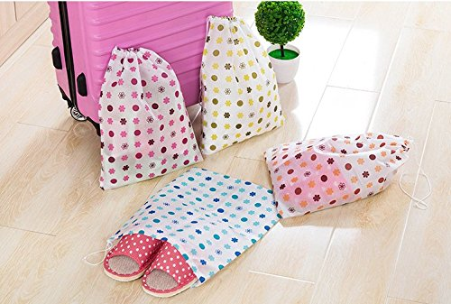 10PCS Boot Shoe Storage Bag Drawstring Bag Travel Storage Carry Dustproof Case